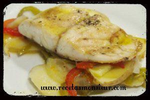 bacalao con verduras monsieur cuisine