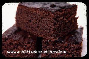 Receta de bizcocho de Chocolate fácil