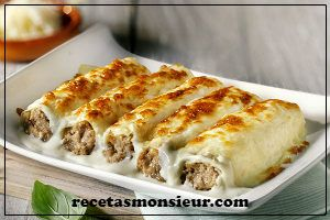 Canelones con Monsieur Cuisine Connect o Plus