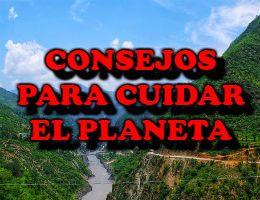 Consejor para cuidar el planeta