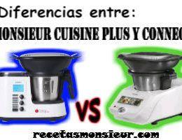 Las diferencias entre Monsieur Cuisine Plus y Connect