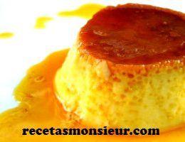 Receta de flan con Monsieur Cuisine