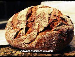Pan rústico o Pan de payés con Monsieur Cuisine Connect o Plus. Integral, Sin Gluten o de Espelta