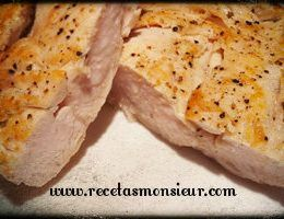 Receta de pechuga de pollo marinada con Monsieur Cuisine