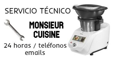 Servicio técnico Monsieur Cuisine