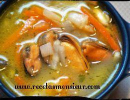 sopa de pescado con monsieur cuisine