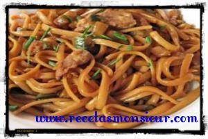 ▷ Tallarines chinos con el encanto asiático