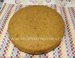 Tarta de Carrot Cake, deliciosa con Monsieur Cuisine Connect receta fácil