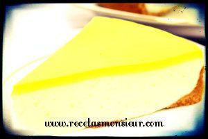 Receta de tarta de limón con Monsieur Cuisine